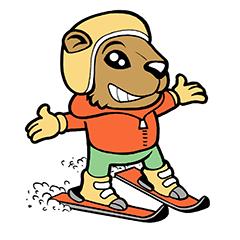 Marmotte<br><small>mai provato gli sci</small><br>(1B)